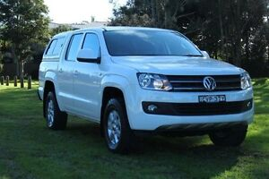 2014 Volkswagen Amarok 2H MY14 TDI400 (4x4) White 6 Speed Manual Dual Cab Utility Port Macquarie Port Macquarie City Preview
