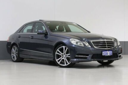 2012 Mercedes-Benz E250 212 MY11 Upgrade CGI Avantgarde Grey 7 Speed Automatic G-Tronic Sedan Bentley Canning Area Preview