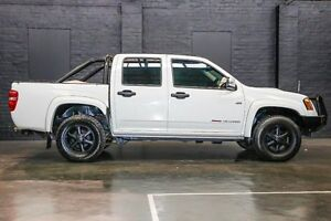 2011 Holden Colorado RC MY11 LX-R Crew Cab White 5 Speed Manual Utility Northbridge Perth City Area Preview