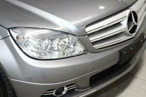 2009 Mercedes-Benz C220 CDI W204 Classic Silver 5 Speed Automatic Sedan