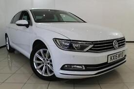 2015 15 VOLKSWAGEN PASSAT 2.0 SE BUSINESS TDI BLUEMOTION TECHNOLOGY 4DR 148 BHP