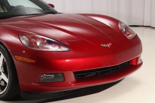 2008 Red Chevrolet Corvette  3LT   C6 Corvette Photo 8