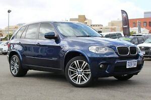 2013 BMW X5 E70 MY1112 xDrive30d Steptronic Blue Metallic 8 Speed Sports Automatic Wagon Northbridge Perth City Area Preview