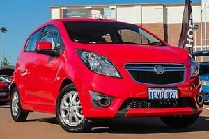 2015 Holden Barina Spark MJ MY15 CD Red 4 Speed Automatic Hatchback Fremantle Fremantle Area Preview