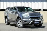 2015 Holden Colorado RG MY16 LTZ (4x4) Grey 6 Speed Automatic Crew Cab Pickup Cannington Canning Area Preview