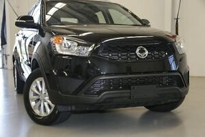 2015 Ssangyong Korando C200 MY15 S 2WD Space Black 6 Speed Automatic Wagon Hillman Rockingham Area Preview