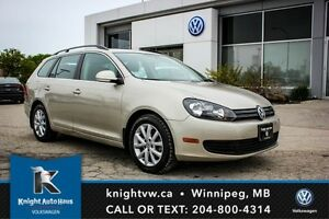 2013 Volkswagen Golf Wagon Comfortline w/ Panoramic Sunroof