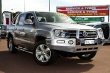 2011 Volkswagen Amarok 2H TDI400 4Motion Perm Ultimate Beige 6 Speed Manual Utility Cannington Canning Area Preview