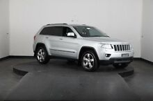 2012 Jeep Grand Cherokee WK Overland (4x4) Silver 5 Speed Automatic Wagon Greenacre Bankstown Area Preview
