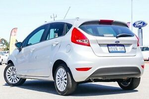 2010 Ford Fiesta Silver Manual Hatchback Maddington Gosnells Area Preview