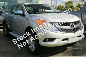 2012 Mazda BT-50 UP0YF1 GT Silver 6 Speed Sports Automatic Utility Victoria Park Victoria Park Area Preview