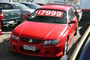 2005 Holden Crewman VZ Red 4 Speed Automatic Briar Hill Banyule Area Preview