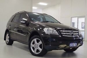 2007 Mercedes-Benz ML350 W164 MY08 Black 7 Speed Sports Automatic Wagon Myaree Melville Area Preview