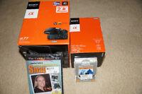 Save $1500+ Sony DSLR SLT-A77V 24.3MP +16-50MM F2.8 DT Ssm Lens