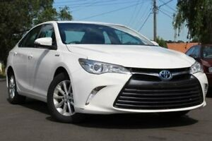2015 Toyota Camry AVV50R Hybrid H White Continuous Variable Sedan Belmore Canterbury Area Preview