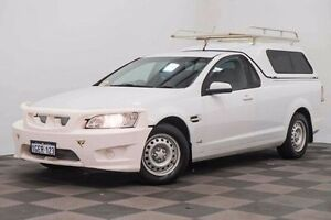 2011 Holden Ute VE II Omega White 4 Speed Automatic Utility Edgewater Joondalup Area Preview