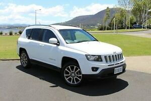 2014 Jeep Compass MK MY15 Limited CVT Auto Stick White 6 Speed Constant Variable Wagon Invermay Launceston Area Preview