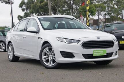 2015 Ford Falcon FG X White 6 Speed Sports Automatic Sedan Condell Park Bankstown Area Preview