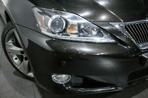 2010 Lexus IS250 C GSE20R MY10 Sports Luxury Black 6 Speed Sports Automatic Convertible Rozelle Leichhardt Area Preview