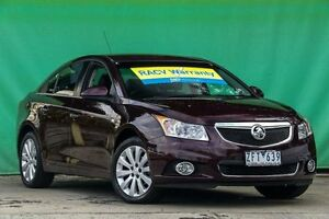 2012 Holden Cruze JH Series II MY12 CDX Maroon 6 Speed Sports Automatic Sedan Ringwood East Maroondah Area Preview