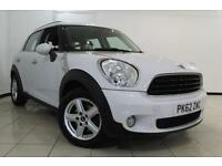 2012 61 MINI COUNTRYMAN 1.6 ONE D PAPPER PACK 5DR 90 BHP DIESEL