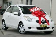 2006 Toyota Yaris NCP91R YRS White 4 Speed Automatic Hatchback Pennant Hills Hornsby Area Preview