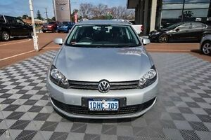 2010 Volkswagen Golf VI MY10 118TSI DSG Comfortline Silver 7 Speed Sports Automatic Dual Clutch Alfred Cove Melville Area Preview
