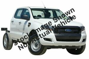 2018 Ford Ranger PX MkII MY18 XL 3.2 (4x4) White 6 Speed Automatic Crew Cab Chassis Oakleigh Monash Area Preview