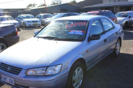 1997 Toyota Camry MCV20R Conquest Blue 4 Speed Automatic Sedan Mitchell Gungahlin Area Preview