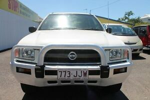 2004 Nissan Pathfinder WX II MY2003 ST White 4 Speed Automatic Wagon Westcourt Cairns City Preview