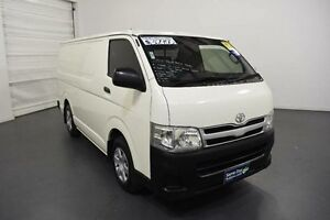 2013 Toyota Hiace KDH201R MY12 Upgrade LWB White Solid 4 Speed Automatic Van Moorabbin Kingston Area Preview