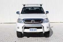 2011 Toyota Hilux GGN25R MY12 SR5 Double Cab White 5 Speed Manual Utility Embleton Bayswater Area Preview