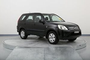 2005 Honda CR-V RD MY2005 4WD Black 5 Speed Automatic Wagon Old Guildford Fairfield Area Preview