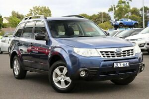 2012 Subaru Forester S3 MY12 X AWD Blue 4 Speed Sports Automatic Wagon
