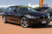 2012 BMW 328i F30 MY0812 Black 8 Speed Sports Automatic Sedan Osborne Park Stirling Area Preview