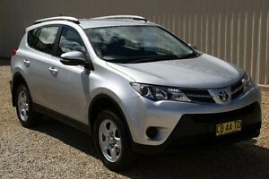 2014 Toyota RAV4 ASA44R MY14 Upgrade GX (4x4) Silver Pearl 6 Speed Automatic Wagon Windradyne Bathurst City Preview