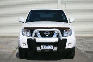 2013 Nissan Navara D40 S7 MY12 RX 4x2 White 6 Speed Manual Utility Seaford Frankston Area Preview