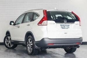 2014 Honda CR-V RM MY15 VTi-L 4WD White 5 Speed Sports Automatic Wagon Victoria Park Victoria Park Area Preview