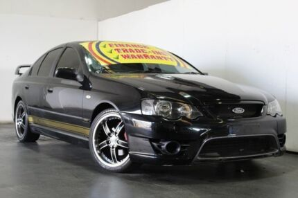 2003 Ford Falcon BA XT Black 4 Speed Auto Seq Sportshift Sedan Underwood Logan Area Preview