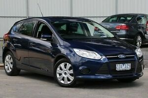 2012 Ford Focus LW Ambiente PwrShift Blue 6 Speed Sports Automatic Dual Clutch Hatchback Ferntree Gully Knox Area Preview