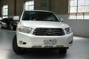 2010 Toyota Kluger GSU45R Grande White Sports Automatic Wagon Knoxfield Knox Area Preview