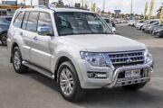 2014 Mitsubishi Pajero NX MY15 GLS White 5 Speed Sports Automatic Wagon Aspley Brisbane North East Preview