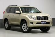 2013 Toyota Landcruiser Prado KDJ150R 11 Upgrade GXL (4x4) Gold 5 Speed Sequential Auto Wagon Bentley Canning Area Preview