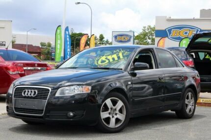 2007 Audi A4 B7 Multitronic Black 7 Speed Constant Variable Sedan Greenslopes Brisbane South West Preview