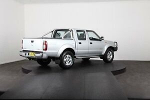2013 Nissan Navara D22 Series 5 ST-R (4x4) Silver 5 Speed Manual Dual Cab Pick-up Mulgrave Hawkesbury Area Preview