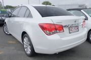 2011 Holden Cruze JG CDX White 6 Speed Sports Automatic Sedan Nundah Brisbane North East Preview