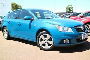 2013 Holden Cruze JH Series II MY13 CD Blue 6 Speed Sports Automatic Hatchback Wilson Canning Area Preview