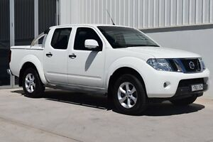 2013 Nissan Navara D40 MY12 ST (4x4) White 6 Speed Manual South Maitland Maitland Area Preview