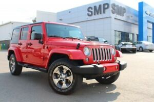 2016 Jeep Wrangler Unlimited Sahara - Nav, Remote Start, Power P