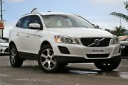 2013 Volvo XC60 DZ MY13 T6 Geartronic AWD White 6 Speed Sports Automatic Wagon Hillcrest Logan Area Preview